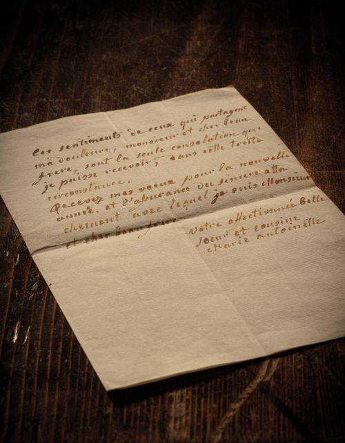 lettera Maria Antonietta - Lux In Arcana