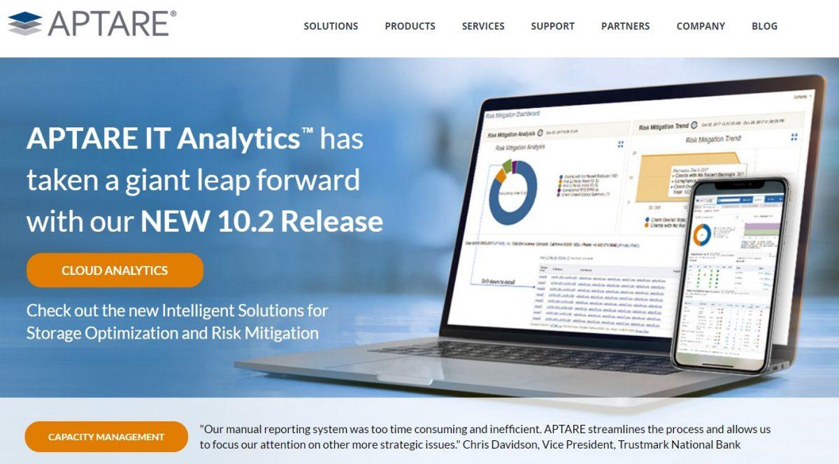 Veritas Technologies acquisisce APTARE