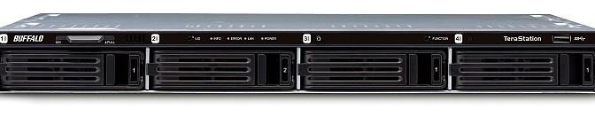 TeraStation 1400 (TS1400R) famiglia di NAS Rackmount a 4 dischi