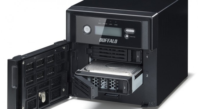 TeraStation 5200DSP, NAS NVR con hard disk WD Purple e software Axis