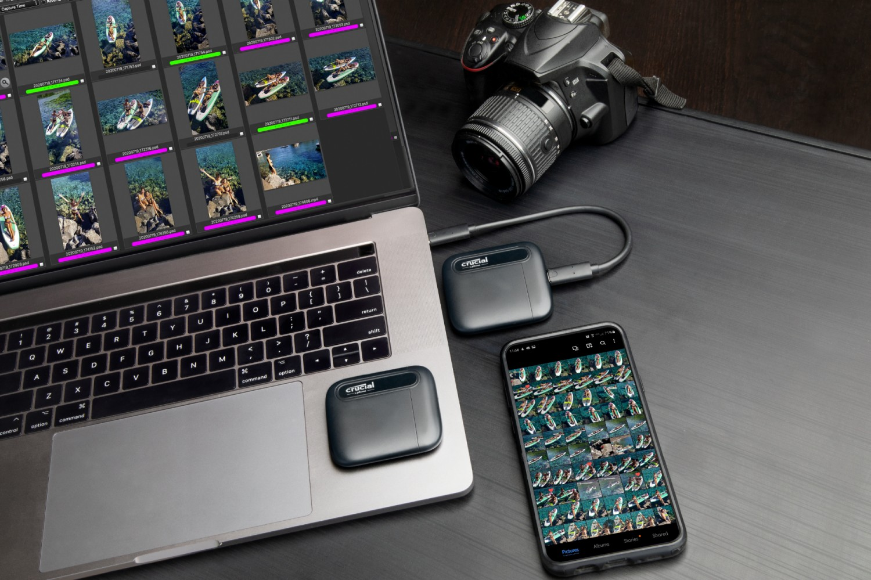 Crucial X6 Portable SSD Storage