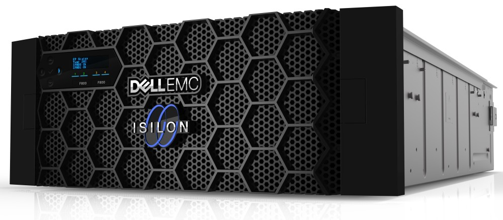 NAS storage scale-out Dell EMC Isilon all-flash