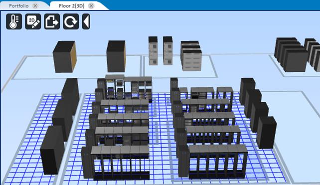 Visualizzazione, scalabilità e gestione termica nella piattaforma Trellis