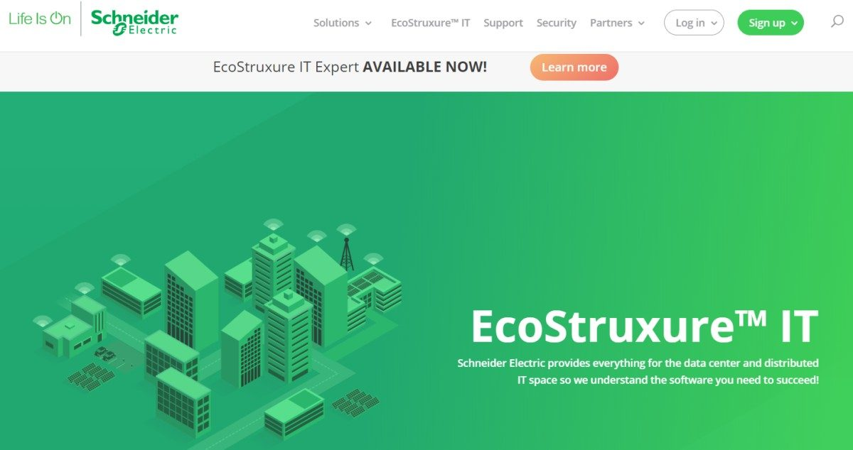 Datacenter Management as a Service: EcoStruxure IT