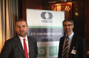 Michele Pozza (direttore tecnico e vendite Maleva) e Roland Mackert (director EMEA SI & Channels ASG).
