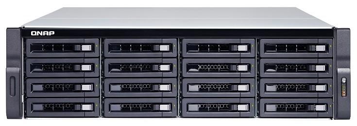 NAS QNAP TS-x73U ad alte prestazioni, con CPU quad core della serie R di AMD e due porte 10GbE SFP+