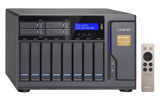 Nuovi NAS TVS-x82 e TVS-x82T Thunderbolt 2 da QNAP