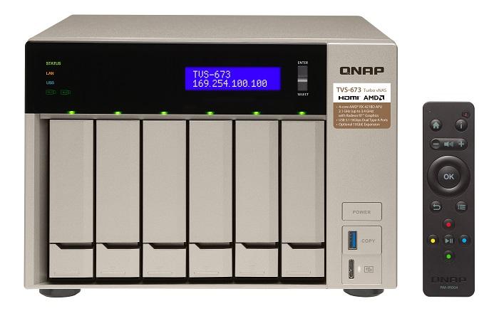 Il NAS TVS-x73 di QNAP