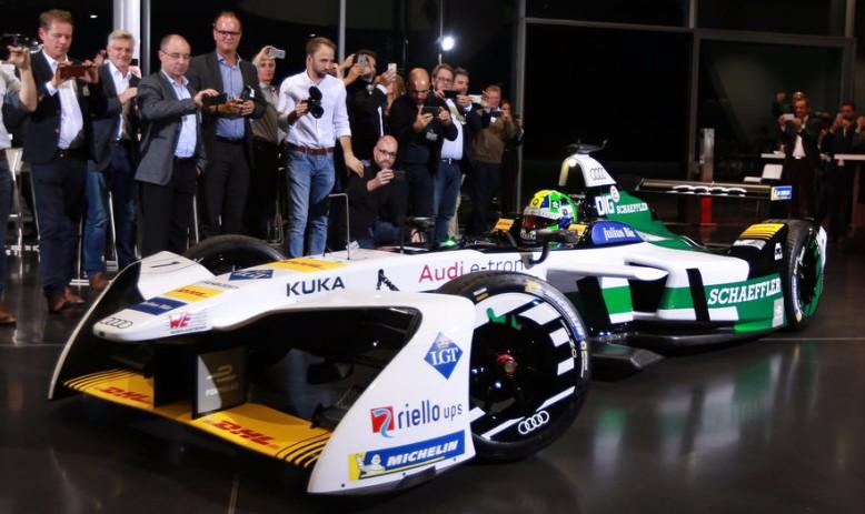Riello UPS è nuovo partner Audi nel campionato FIA Formula E 2017/18 per auto a motore elettrico
