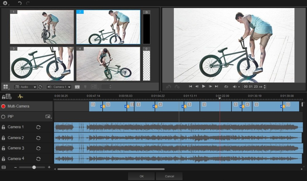 Roxio Creator NXT Pro 5 Multi-Camera Video Editing