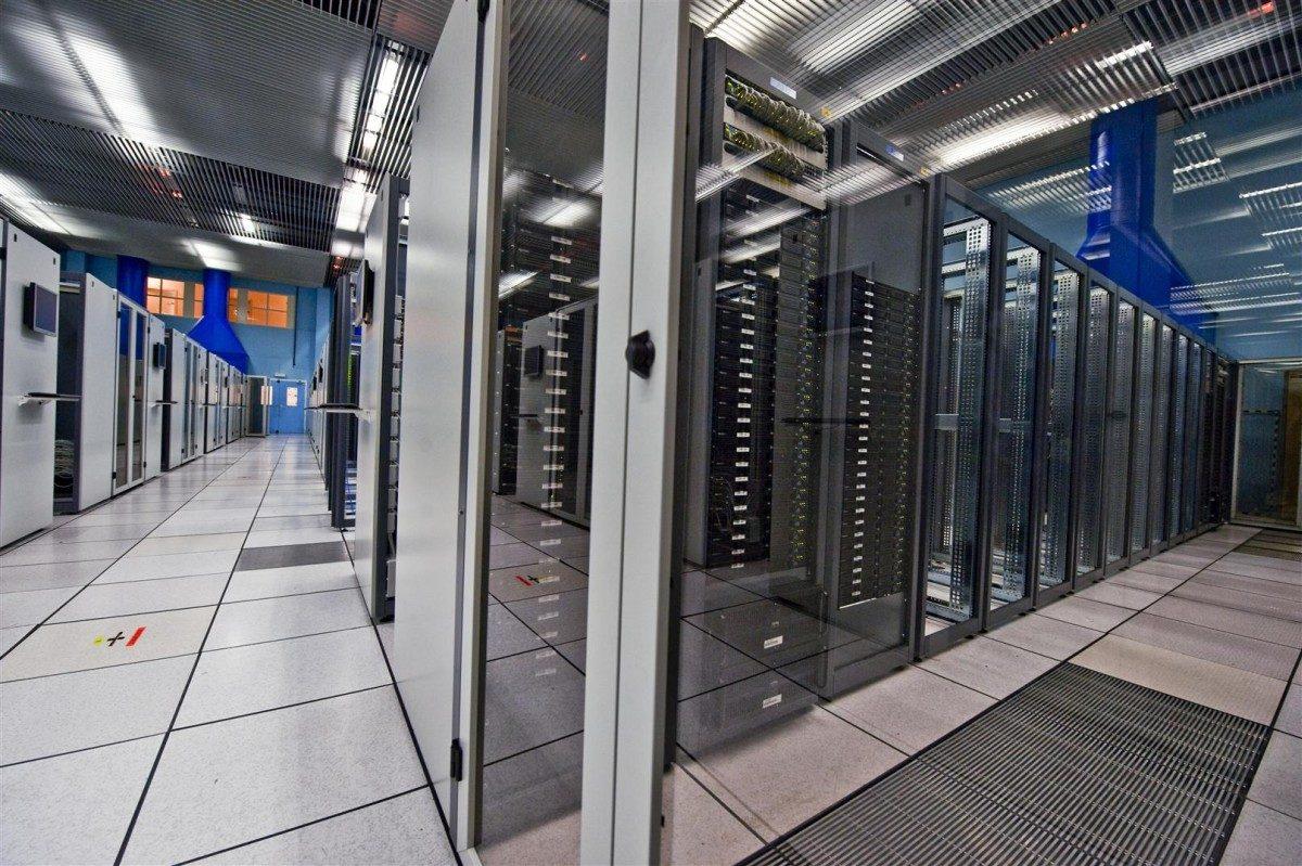 Server room CERN
