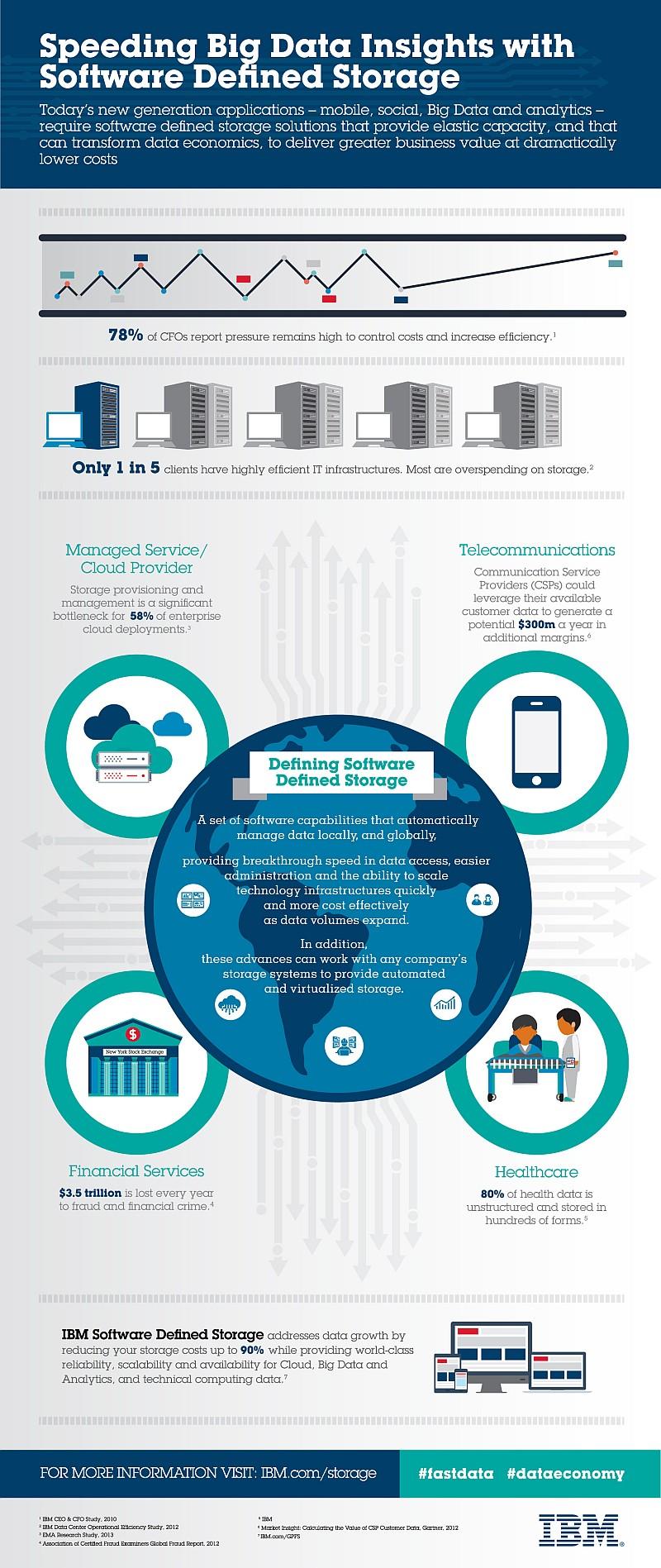 Software-Defined Storage, IBM, infografica
