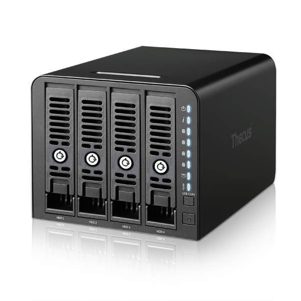 Thecus N4350: conveniente NAS 4-bay
