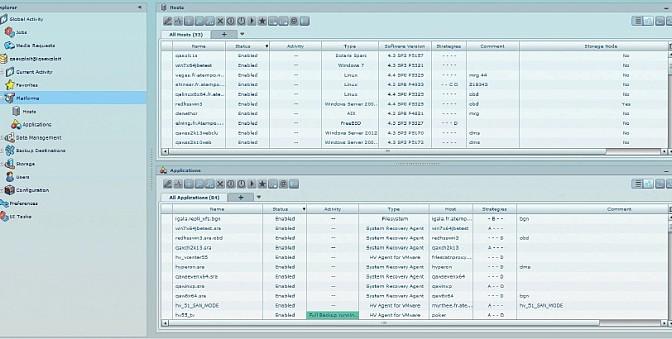 ASG Time Navigator 4.4: Web UI, statistiche, selezione multipla, HyperVision Deduplication Storage ed altro