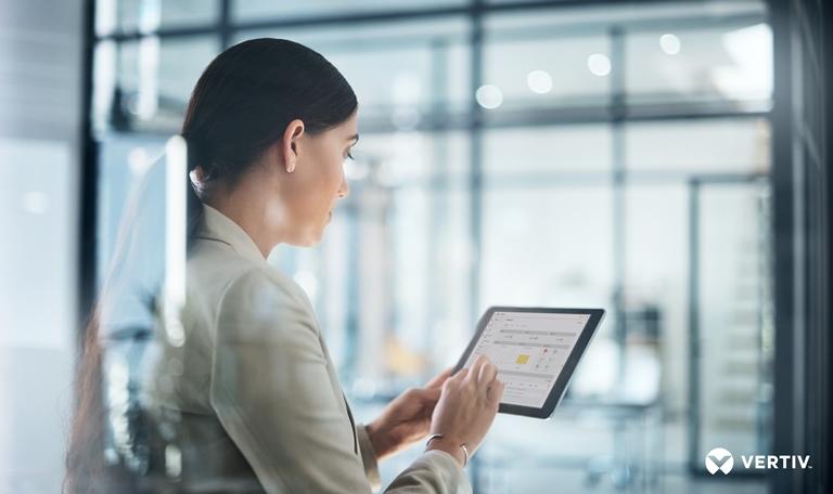 Vertiv Environet Alert tablet