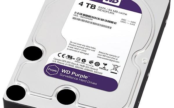 WD Purple: hard disk per la sorveglianza