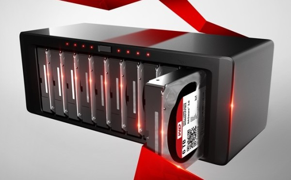 I dischi WD Red Pro disponibili da 6 TB