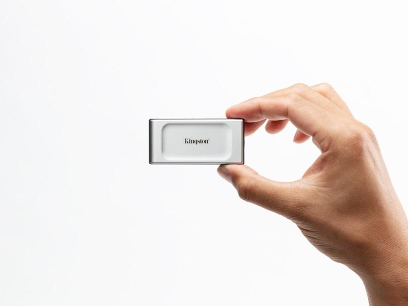XS2000 SSD portatile in formato tascabile