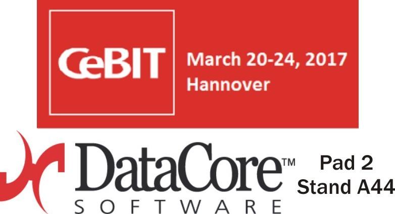CeBIT 2017: DataCore mostra le innovazioni nel Software-defined Storage e le nuove appliance iper-convergenti