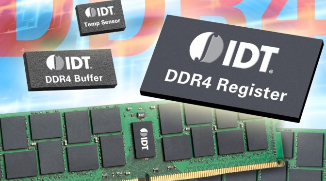 DDR4 LRDIMM: Memory Bandwidth senza precedenti in memorie DDR4 LRDIMM grazie a register e data buffer di IDT