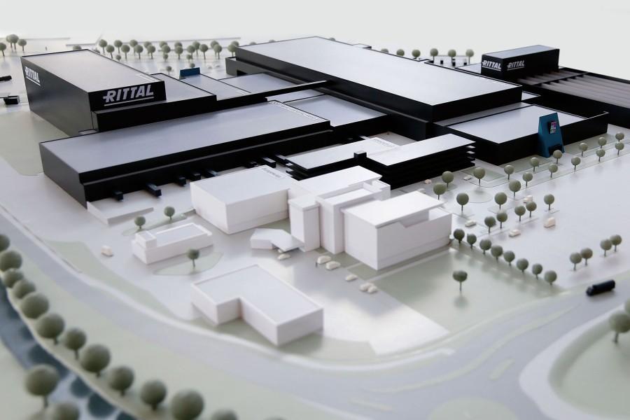 Nuova fabbrica altamente automatizzata per Rittal