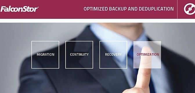Optimized backup and deduplication (FalconStor): casi di successo